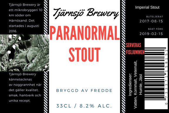 Paranormal Stout